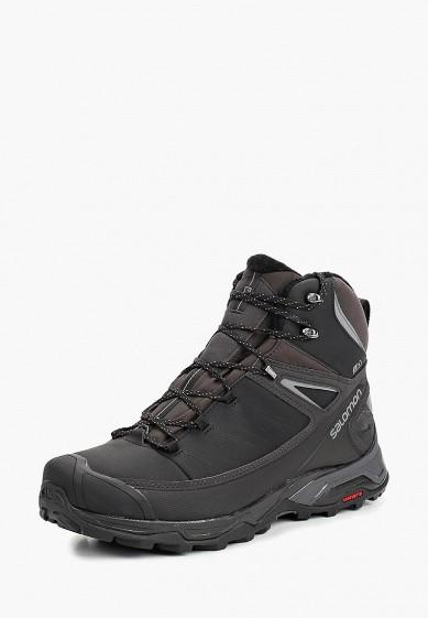 Купить Ботинки трекинговые Salomon - цвет: черный, Вьетнам, SA007AMBOIK1