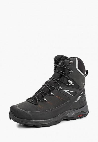 Купить Ботинки трекинговые Salomon - цвет: черный, Вьетнам, SA007AMBOIK2
