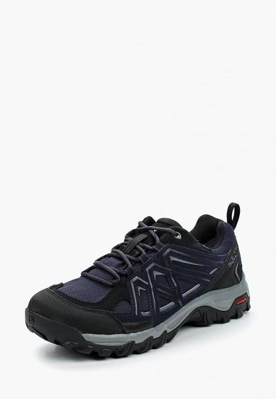 Купить Ботинки трекинговые Salomon - цвет: синий, Камбоджа, SA007AMBOIK5