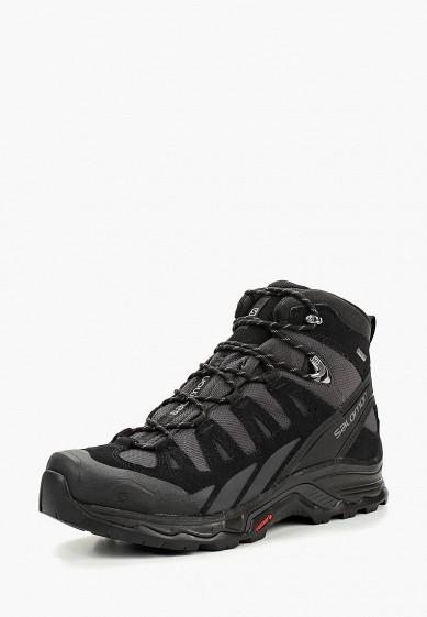 Купить Ботинки трекинговые Salomon - цвет: черный, Вьетнам, SA007AMBOIK8