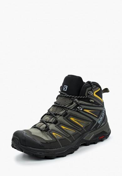 Купить Ботинки трекинговые Salomon - цвет: хаки, Вьетнам, SA007AMBOIK9