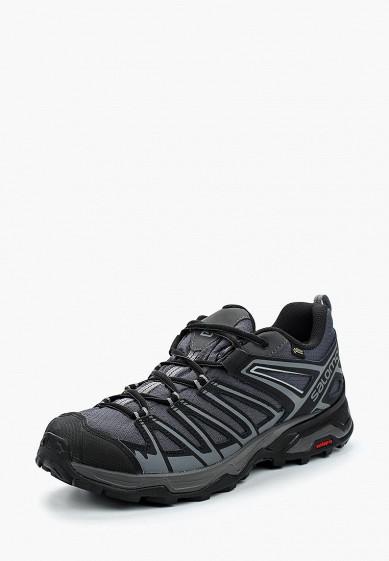 Купить Ботинки трекинговые Salomon - цвет: серый, Индия, SA007AMBOIL0