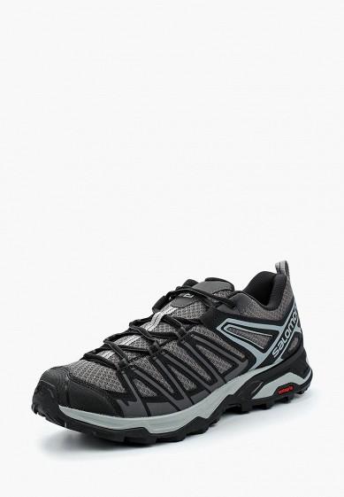 Купить Ботинки трекинговые Salomon - цвет: серый, Индия, SA007AMBOIL1