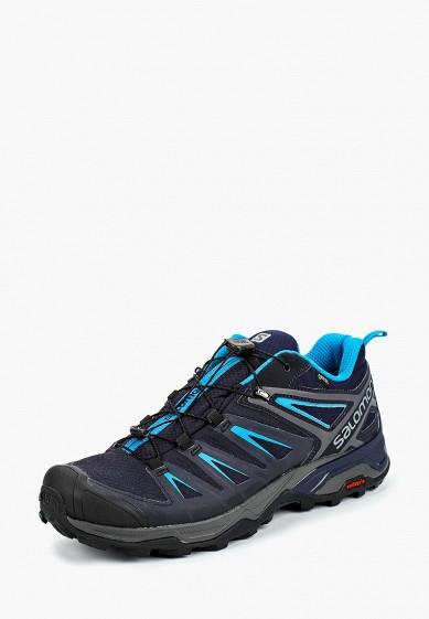 Купить Ботинки трекинговые Salomon - цвет: синий, Вьетнам, SA007AMBOMI6