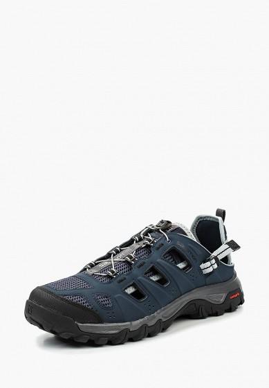 Купить Ботинки трекинговые Salomon - цвет: синий, Вьетнам, SA007AMPRW30