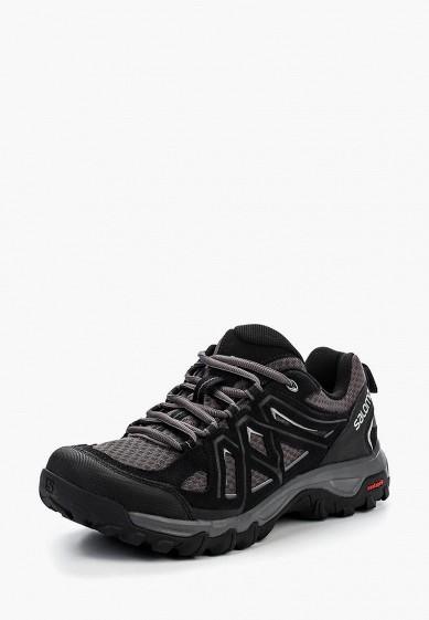 Ботинки трекинговые Salomon - цвет: черный, Камбоджа, SA007AMPRW36  - купить со скидкой