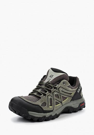 Купить Ботинки трекинговые Salomon - цвет: серый, Камбоджа, SA007AMPRW37