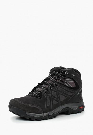 Купить Ботинки трекинговые Salomon - цвет: черный, Вьетнам, SA007AMUHK42