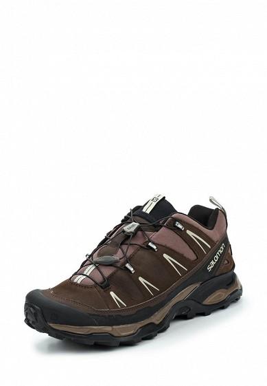 Купить Ботинки трекинговые Salomon - цвет: коричневый Вьетнам SA007AMUHK43