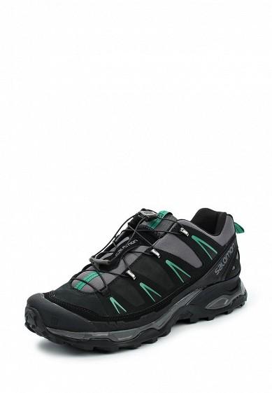 Купить Ботинки трекинговые Salomon - цвет: черный, Вьетнам, SA007AMUHK44