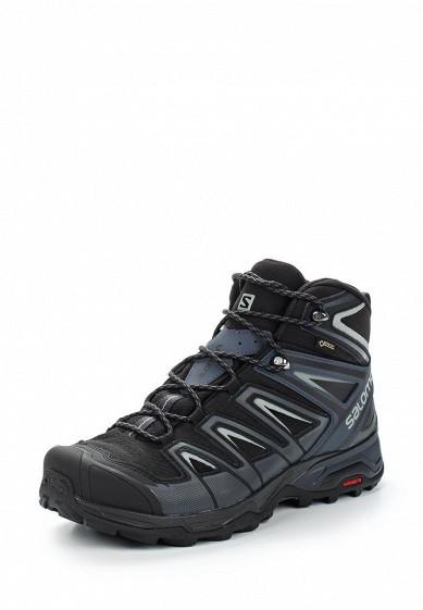 Купить Ботинки трекинговые Salomon - цвет: черный Вьетнам SA007AMUHK46