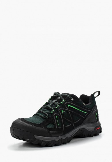 Купить Ботинки трекинговые Salomon - цвет: зеленый, Камбоджа, SA007AMUHK47