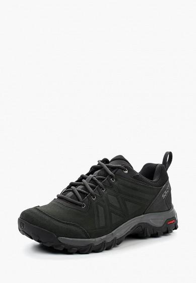 Купить Ботинки трекинговые Salomon - цвет: черный, Камбоджа, SA007AMUHK48
