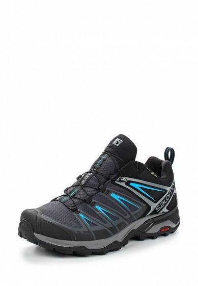 Купить Ботинки трекинговые Salomon - цвет: синий Вьетнам SA007AMUHK50