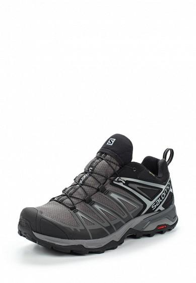 Купить Ботинки трекинговые Salomon - цвет: серый Вьетнам SA007AMUHK51