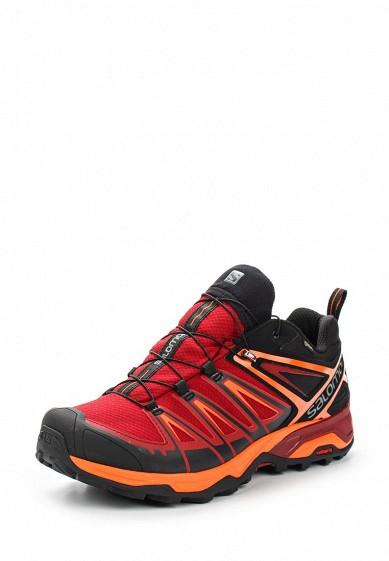 Купить Ботинки трекинговые Salomon - цвет: красный Вьетнам SA007AMUHK52