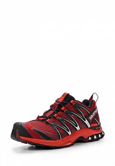 Кроссовки Salomon - цвет: красный, Вьетнам, SA007AMUHK67  - купить со скидкой
