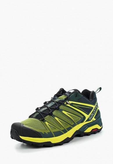 Купить Ботинки трекинговые Salomon - цвет: зеленый, Камбоджа, SA007AMZOS83