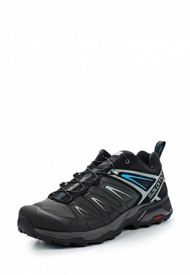 Купить Ботинки трекинговые Salomon - цвет: черный, Камбоджа, SA007AMZOS84