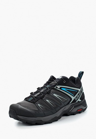 Ботинки трекинговые Salomon - цвет: черный, Камбоджа, SA007AMZOS84  - купить со скидкой