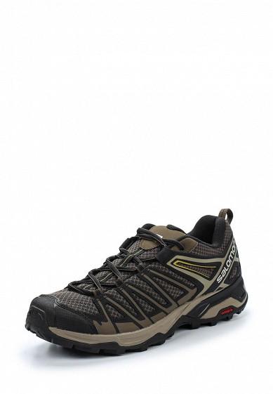 Купить Ботинки трекинговые Salomon - цвет: серый, Индия, SA007AMZOS86