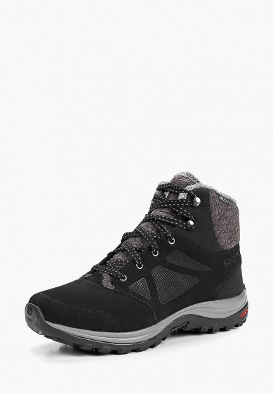 Купить Ботинки трекинговые Salomon - цвет: черный, Вьетнам, SA007AWBOMJ6