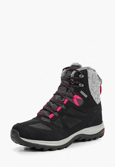 Купить Ботинки трекинговые Salomon - цвет: черный, Вьетнам, SA007AWBOMJ8