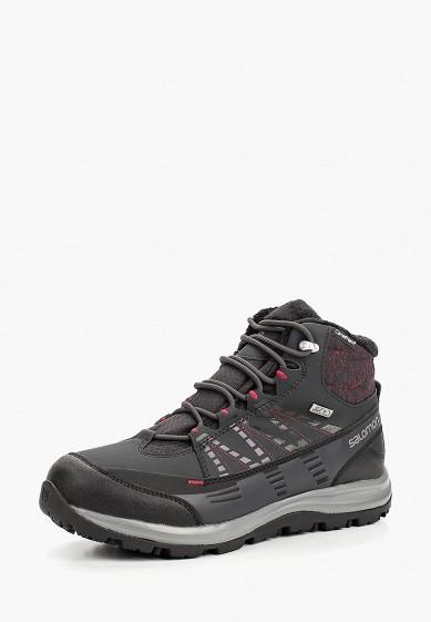 Купить Ботинки трекинговые Salomon - цвет: черный, Вьетнам, SA007AWBOMK1