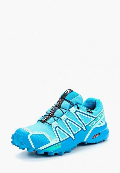 Купить Кроссовки Salomon - цвет: голубой, Китай, SA007AWBOML3