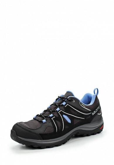 Купить Ботинки трекинговые Salomon - цвет: черный Камбоджа SA007AWJJL02