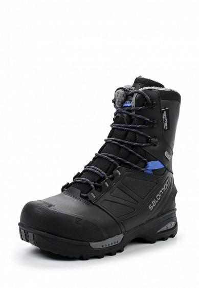 Купить Ботинки Salomon - цвет: черный Китай SA007AWUHK72