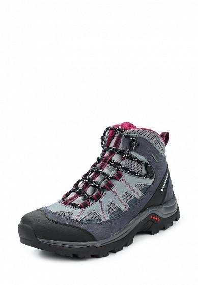 Купить Ботинки трекинговые Salomon - цвет: серый, Вьетнам, SA007AWUHK74