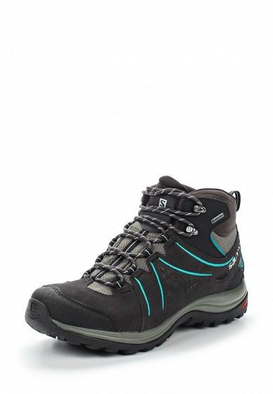 Купить Ботинки трекинговые Salomon - цвет: серый Вьетнам SA007AWUHK75