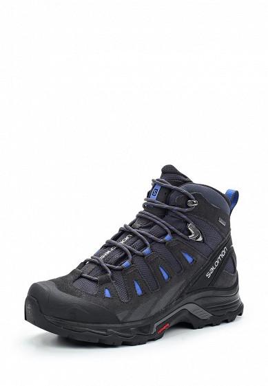 Ботинки трекинговые Salomon - цвет: черный, Вьетнам, SA007AWUHK77  - купить со скидкой