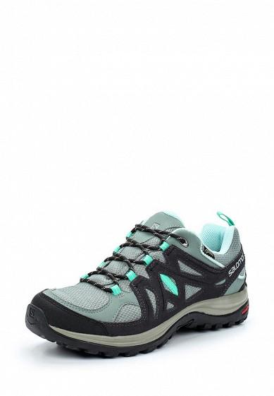 Купить Ботинки трекинговые Salomon - цвет: серый, Камбоджа, SA007AWUHK79