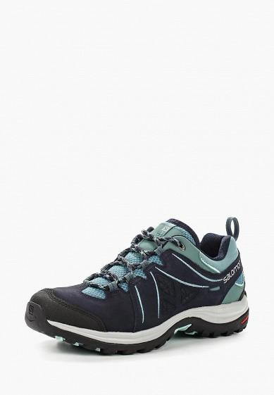 Купить Ботинки трекинговые Salomon - цвет: синий, Камбоджа, SA007AWUHK80