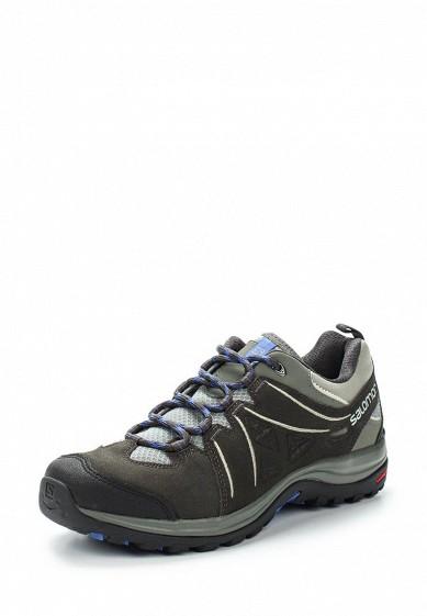 Купить Ботинки трекинговые Salomon - цвет: серый Камбоджа SA007AWUHK81