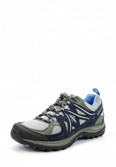 Купить Ботинки трекинговые Salomon - цвет: хаки, Камбоджа, SA007AWZOT27