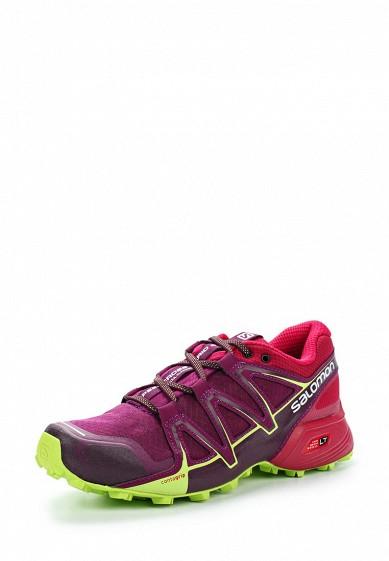 Купить Кроссовки Salomon - цвет: фиолетовый Вьетнам SA007AWZOT32