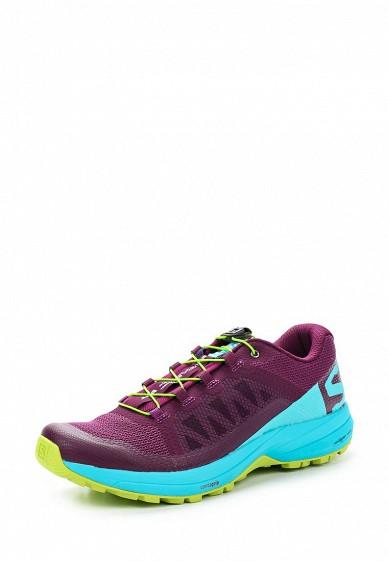 Купить Кроссовки Salomon - цвет: фиолетовый Вьетнам SA007AWZOT37