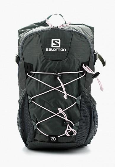 Купить Рюкзак Salomon - цвет: зеленый, Вьетнам, SA007BUZOU22