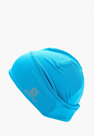 Купить Шапка Salomon - цвет: голубой, Китай, SA007CUUHJ44