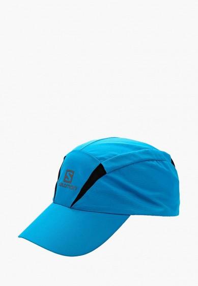 Купить Бейсболка Salomon - цвет: голубой, Китай, SA007CUZOU06