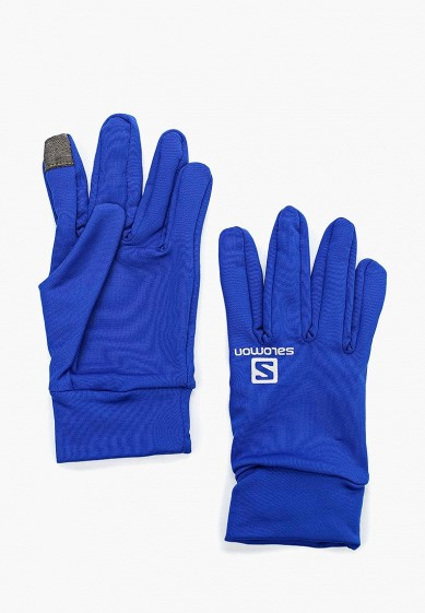 Купить Перчатки Salomon - цвет: синий, Индонезия, SA007DUUHJ39