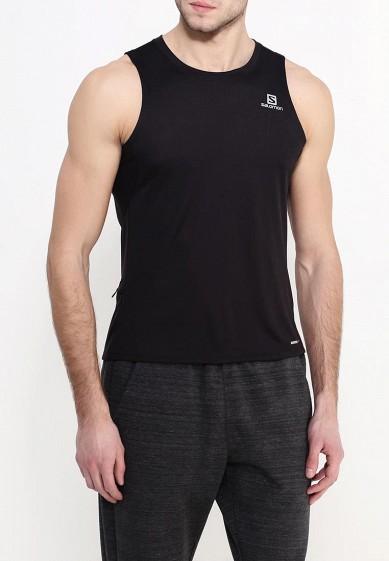 Купить Майка спортивная Salomon - цвет: черный, Таиланд, SA007EMHCF75