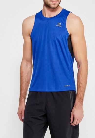 Купить Майка спортивная Salomon - цвет: синий, Таиланд, SA007EMZOS33