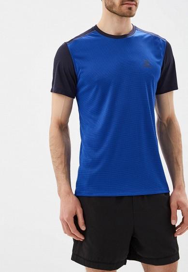 Купить Футболка спортивная Salomon - цвет: синий, Таиланд, SA007EMZOS47