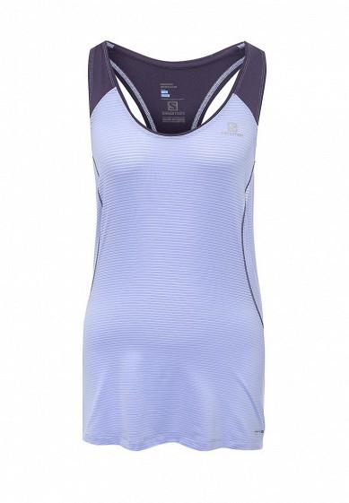 Купить Майка спортивная Salomon - цвет: синий, Таиланд, SA007EWPRU93