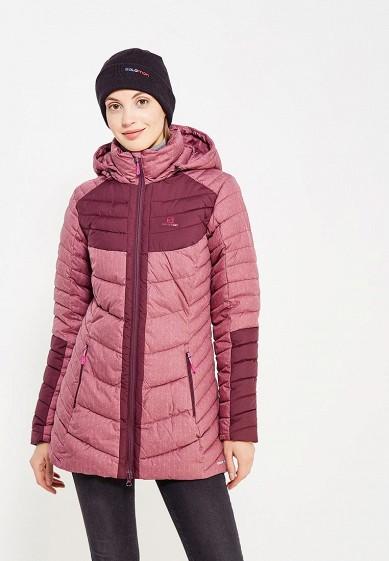 Купить Куртка утепленная Salomon - цвет: розовый, Индонезия, SA007EWUHK24