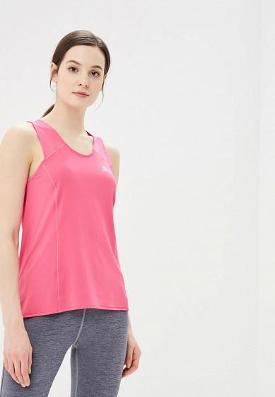 Майка спортивная Salomon - цвет: розовый, Таиланд, SA007EWZOS68  - купить со скидкой